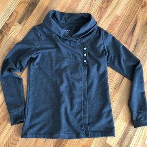Danskin charcoal grey sweater